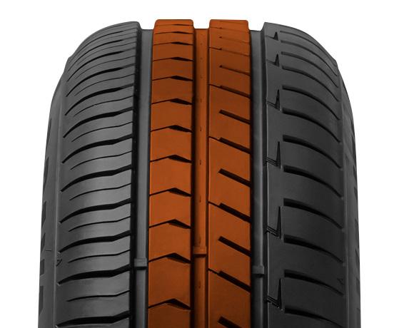 Centre block pattern on DX240 tyre