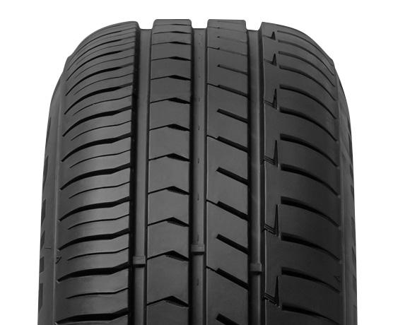 Tyre tread pattern on DX240 tyre