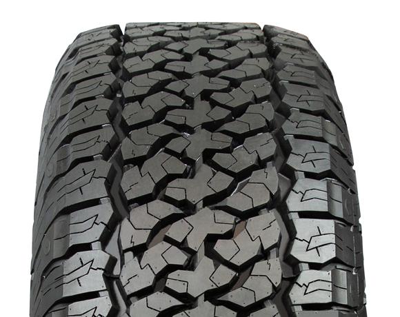 Tyre tread pattern on Terratoura A/T tyre
