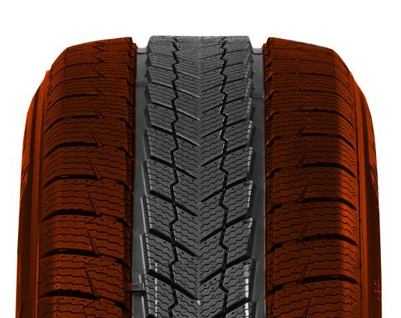 Inner block pattern on Wintoura SUV tyre