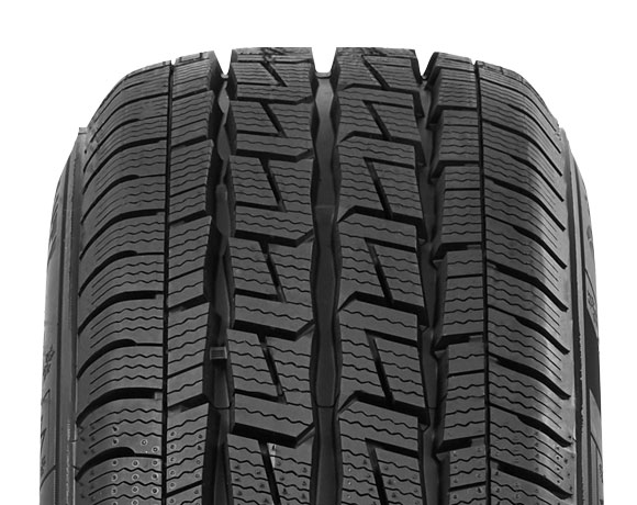 Tyre tread pattern on Wintoura VAN tyre